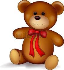 imagenes animadas oso bebé oso con el corazón rojo ilustraciones vectoriales clip art