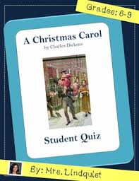 Charles Worksheet Answer Key A Carol By Charles Dickens Book Quiz With Answer Key