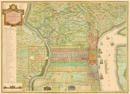Map Of Philadelphia Pennsylvania by Old City Map Philadelphia Pennsylvania Landowner 1802