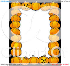 Halloween Photo Borders by Pumpkin Border Clipart Clipart Panda Free Clipart Images