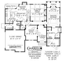 master house plans alexandria house plan house plans by garrell associates inc