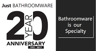 20 yr anniversary just bathroomware 20 year anniversary 2017 just bathroomware