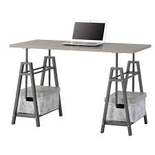 Height Of Computer Desk Shannon Height Adjustable Writing Desk U0026 Reviews Allmodern