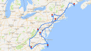 Road Trip Map Maine Road Trip Day 1 U2013 Palmetto Ramblers