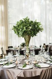 wedding centerpieces for round tables best 25 greenery centerpiece ideas on pinterest simple