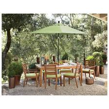 Patio Table Wood Brooks Island Wood Patio Furniture Collection Smith U0026 Hawken