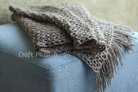 broomstick knitting broomstick lace scarf free crochet pattern craft