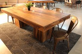 rosewood natural wood table with wooden square legs u2013 wazo furniture