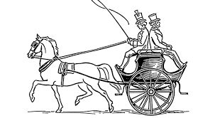 horse and cart coloring pages getcoloringpages com