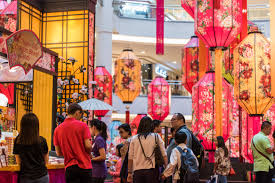 Chinese New Year Home Decoration Shopping Malls In Kl Celebrate Chinese New Year With Bright And