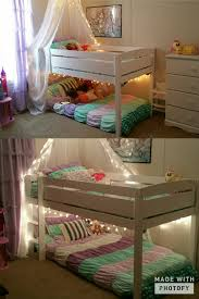 Crib Mattress Bunk Bed by For A Princess Mermaid Theme Bedroom Beds Are Great For Small