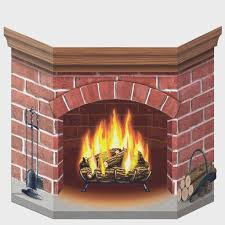 fireplace cartoon christmas fireplace fireplaces