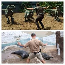 Raptor Memes - chris pratt jurassic world spoof at children s hospital today s