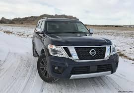 nissan armada off road 2017 nissan armada platinum road test review by tim esterdahl