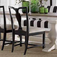 back to black and white dining room ethan allen
