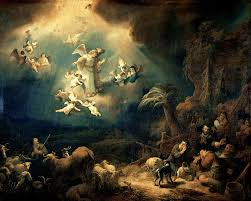 how many angels did the shepherds see on christmas day philip