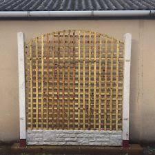 Fence Panels With Trellis Lattice Fence Panels Ebay