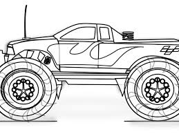 download monster truck colouring pages ziho coloring