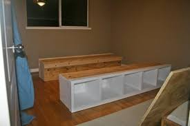 King Platform Bed Build by Diy King Platform Bed How To Build A Cal King Platform Bed Frame