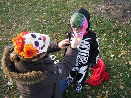 Halloween Face Paint Ideas Skeleton by Halloween Face Painting Ideas Step To Make The Celebration