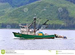 Hoonah Alaska Map by Alaska Hoonah Commercial Fishing Boat Editorial Stock Image