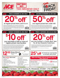 ace hardware black friday jn branding