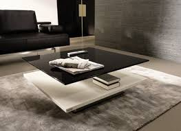 Glass Waterfall Coffee Table Cool Glass Waterfall Coffee Table Viva Modern Interiorvues