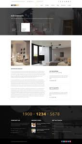 cozy interior design decor architecture theme interiart furniture u0026 interior wordpress theme by plazart