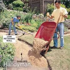 how to make a path of building for a stone path family handyman