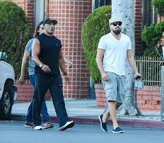 leonardo dicaprio and lukas haas out in beverly hills 8 15