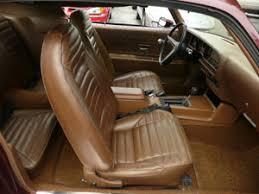 Saddle Interior 1971 Interiors