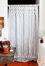 Room Dividers At Home Depot - stylish macrame room divider how to macrame a room divider the