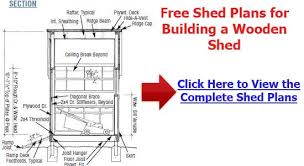 How To Build A Wooden Shed Ramp by Shed Ramp Plans Learn How To Plan And Build A Storage Shed