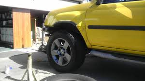 nissan xterra lifted bored lifted my 2000 xterra with armada wheels nissan