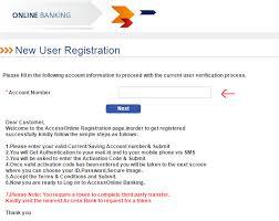 access bank internet banking application form