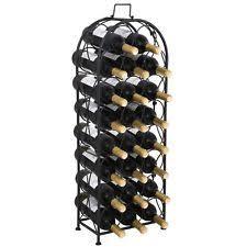 unbranded iron free standing wine racks u0026 bottle holders ebay