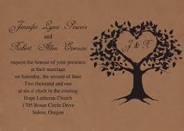 tree wedding invitations cheap vintage brown tree wedding invitations iwi249 wedding