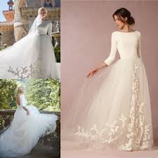 2016 elegant tulle wedding dress olivia palermos a line appliques