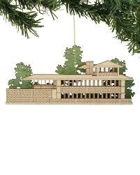 frank lloyd wright house ornaments set of 4 architectgiftsplus