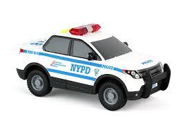 amazon com daron nypd mighty police car toys u0026 games