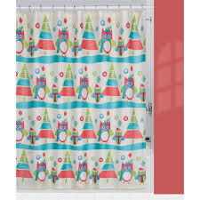 Shower Curtains With Trees Creative Bath Owls Trees Fabric Shower Curtain