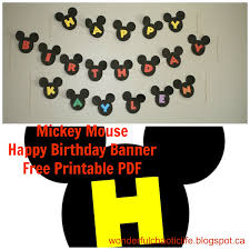 mickey mouse free birthday printables printable invitations