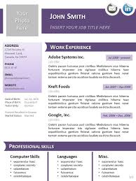 Word 2007 Resume Templates Smart Design Resume Template Libreoffice 15 Template Curriculum