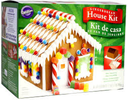 amazon com pre baked gingerbread house kit home and garden