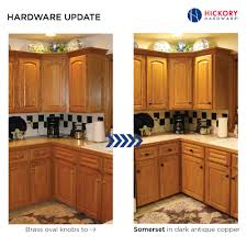 Hardware For Cabinets For Kitchens Simple Kitchen Cabinet Hardware Update Brass Oval Knobs To