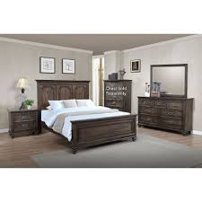 Antique Brown Classic Traditional  Piece King Bedroom Set - Bedroom sets at rc willey