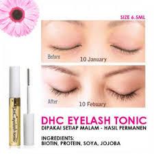 Serum Pemanjang Bulu Mata jual dhc eyelash tonic nourishing gel serum pemanjang bulu mata