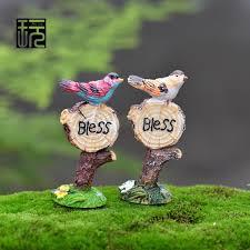 aliexpress buy resin sign model happy bird ornaments road