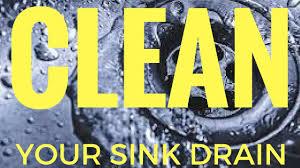 bathroom sink unclog a bathroom sink drain vinegar baking soda