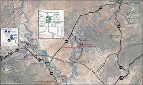 Map Of Sedona Arizona by The Trail Map Verde Valley Wine Trail